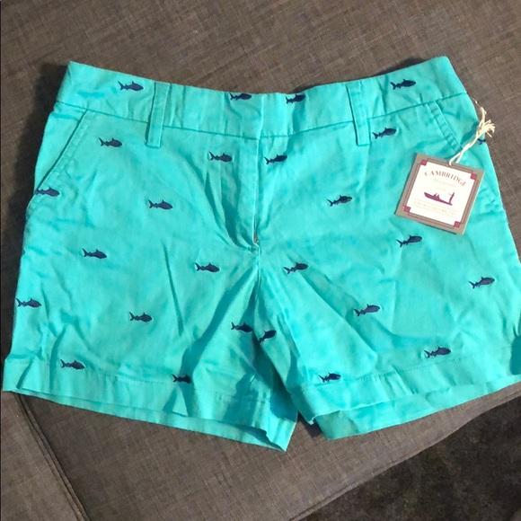 Cambridge shark shorts Sz 2